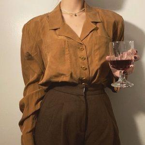 Carlisle 100% silk blouse
